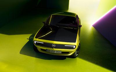 Opel Manta GSe ElektroMOD: Et smil til fremtiden