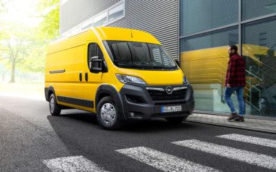 Opel med ny stor elektrisk varebil
